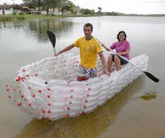 Plastic Bottle Boat