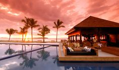 Hilton Fiji Beach Resort & Spa Getaway: 3 nights, tour, bkfst, transfers.  Travelscene.com