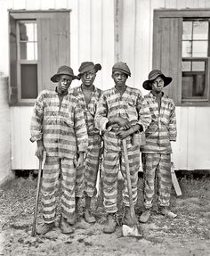 """© Detroit Publishing Company, ca. 1905, A Southern chain gang""""  TIME magazine's Lightbox recently ran a feature on Shorpy: There's always something interesting about history—it's often just a matter of knowing where to find it. That's the idea behind Shorpy.com, an eye-popping collection of historical imagery that casts a modern light on an astonishing array of photographs long-hidden in the Library of Congress archives. #history #shorpy"""
