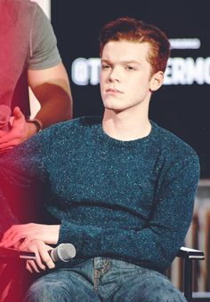 Cameron Monaghan in his wonderful sweater