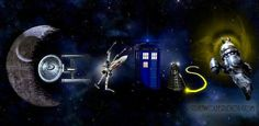 """""""Co-exist"""" Dr. Who style :)"""