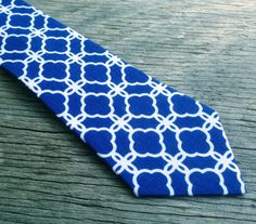 Men's Royal Blue Tie Royal Blue Neck Tie Father and by littlevys