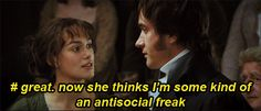 Fitzwilliam Darcy's inner struggles: 4/? ... • Bam! Said the lady.