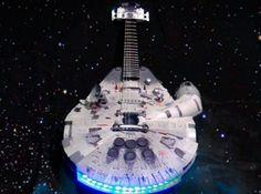 Falcon Guitar, actually plays. Impressive.