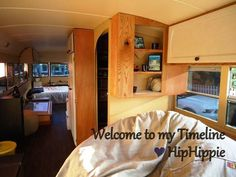 converted school bus for sale   School Bus - Tiny House Listings