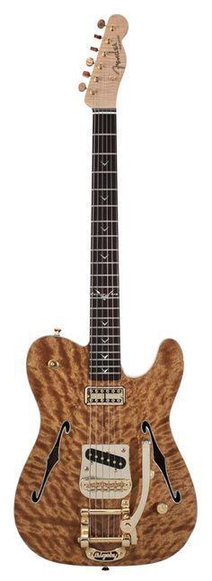.Fender Telecaster Thinline w Bigsby