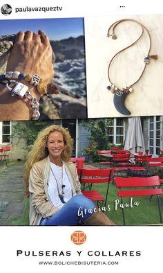 Collar y pulseras de amistad personalizadas para Paula Vazquez