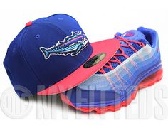 d5856777019 Custom NEW ERA x MiLB「Pensacola Wahoos 」59Fifty Fitted Baseball Cap Fitted  Baseball Caps