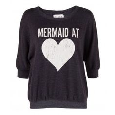 When I was little I wished with all my heart that I were a mermaid. lol.