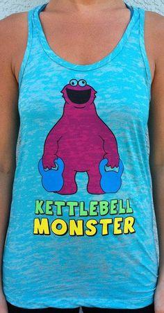 Kettlebell Monster Workout tank    followpics.co