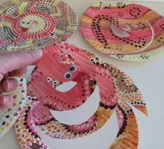 snake2 Aboriginal Art For Kids, Aboriginal Education, Aboriginal Culture, Indigenous Education, Australian Art For Kids, Indigenous Australian Art, Australian Animals, Naidoc Week Activities, Art Activities