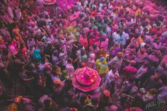 Photos de Holi, la fête des couleurs