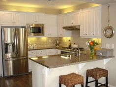 Top U Shaped Kitchen Remodel Ideas. Below are the U Shaped Kitchen Remodel Ideas. This post about U Shaped Kitchen Remodel Ideas was posted under the  U Shaped Kitchen With Breakfast Bar, Kitchen Layout U Shaped, Small U Shaped Kitchens, Breakfast Bars, U Shape Kitchen, Kitchen Cabinet Remodel, Condo Kitchen, New Kitchen Cabinets, Kitchen Decor