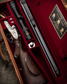 James Purdey & Sons .375 H&H Magnum Express Rifle.