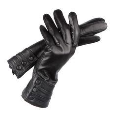 These soft, genuine leather women's (sheepskin) gloves are also touch screen friendly and work with all capacitive touch screen devices. Warm, comforting and a