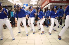 When six students joined Zeta Phi Beta in April, they welcomed the sorority back to campus.