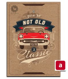 HBD Men Greeting cards by Pako garcia, via Behance