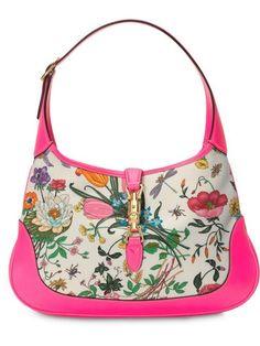 21be3b1c59b Gucci Jackie Medium Flora Hobo Bag