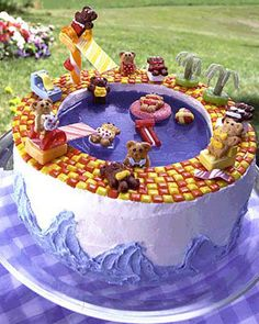 Awesome children's cake