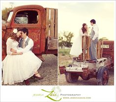 Rustic Country Wedding Photo Idea