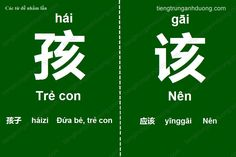 Các cặp chữ Hán dễ nhầm lẫn (phần 1) How To Speak Chinese, Learn Chinese, Chinese Quotes, Chinese Language, China, Vocabulary, Study, Japanese, Writing