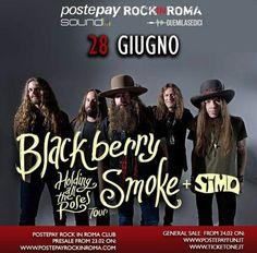 #BlackberrySmoke added to the #RockinRoma festival