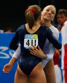 Girl On The Olympics Beam Right Now Has The Fattest Ass Shawn Johnson