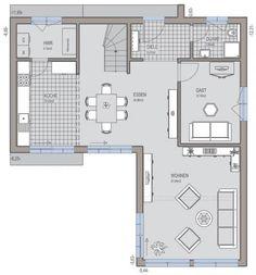Bauhaus 174 - Grundriss Erdgeschoss