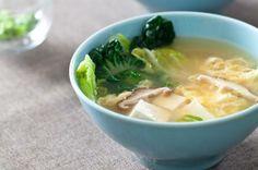 Tofu Mushroom Soup (and 52 other healthy tofu recipes)