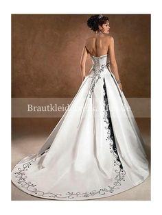 schwarz vintage Royal Brautkleid Verkaufen