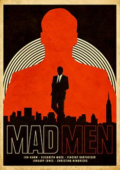 One of the greatest show ever! Mad Men is the definition of classy. Mad Men is nothing but the most stylish, chic, clever and beautiful tv show ever on screen! Mad Men Mode, Mad Men Poster, Movies And Series, Tv Series, Poster Online, Mad Men Fashion, Trendy Fashion, Jon Hamm, Kunst Poster