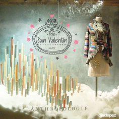 Vinilo San Valentín 018: Vinilos decorativos San Valentín Vinilos adhesivos vidrieras escaparates show window Window Display Wall Art Stickers wall stickers