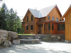 Exterior Photos Stone Siding Cabin Design Pictures Remodel Decor And Ideas