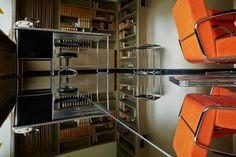 Petra Blaisse installed a mirroring floor in House Sonneveld, Rotterdam photo Johannes Schwartz Rotterdam, Petra, 1930s House Renovation, Modernisme, Interior Architecture, Interior Design, Inside Outside, Floor Mirror, Cool Rooms
