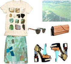 """nature3"" by pantygirdle ❤ liked on Polyvore"