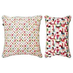 Carolyn Donnelly Eclectic Puzzle Cushion
