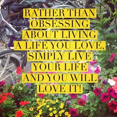 """Here's what I think...Rather than obsessing about living a life you love, simply LIVE your life and you will love it! Are you with me?  _______________________________________________join me at www.focusonstyle.com/instastyle______________________________________#enjoylife #lifecoach #style #styleword #stylecoach #wisdom #quotes #motivation"" Photo taken by @focusonstyle on Instagram, pinned via the InstaPin iOS App! http://www.instapinapp.com (07/02/2015)"