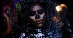 Voodoo Is Part of Us Haitian-Americans Voodoo Parties (Social) Voodoo Party, Skeleton Bodysuit, Dark Spells, Baron Samedi, Black Veil, Haiti, Ny Times, Halloween Face Makeup
