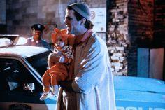 Jack Holden (Ted Danson) and baby Mary Bennington (Lisa/Michelle Blair) ~ Three Men and a Baby (1987) ~ Movie Stills ~ #threemenandababy #80smovies #moviestills #comedies #80scomedies