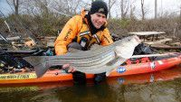 Let patterns not places guide your kayak fishing and you'll catch more fish and get away from the crowds says Jeff Little.