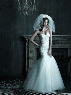 Shop Allure Bridals: Style: C208  love the bodice!!