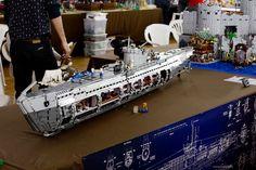 Lego Ww2, Lego Army, Bateau Lego, Legos, Lego Submarine, Lego Boat, Lego Machines, Lego Ship, Lego Construction
