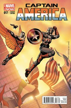 Captain America Vol. 7 # 17 (Variant) by Rags Morales