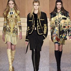 Givenchy RTW Fall 2016 #Riccardo Tisci #fall Givenchy collection #Egypt #egyptian influenced #amazing detail # beautiful #visionary #parisfashionweek #fashion week #paris
