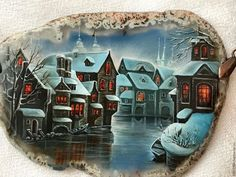 639692d1a8d75 Pendants handmade. Livemaster - handmade. Buy Winter twilight...( burst City
