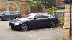 Maserati Quattroporte in London #exoticcar #supercar #car #exotic #cars #hypercar #exoticcars #carporn #supercars