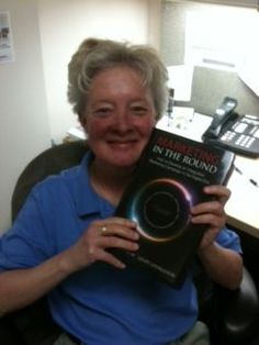 Deb Dobson received her copy of Marketing in the Round!