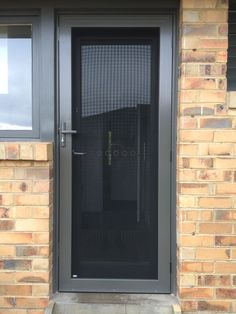 Colour matched Crimsafe Ultimate by The Superior Door Company
