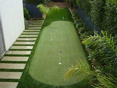 putting green backyard - Google Search