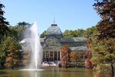 Cristal Palace. Parque del Retiro. Madrid, Spain